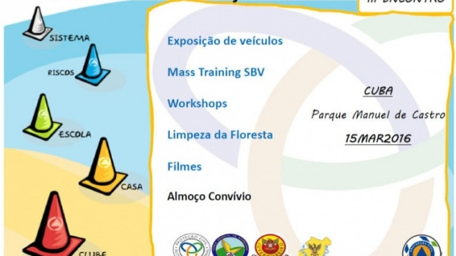 III Encontro Clubes de Proteção Civil em Cuba