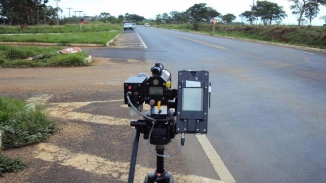 Radares na PSP na EN 255 em Moura