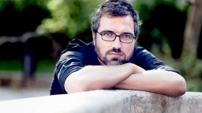Escritor Pedro Chagas Freitas em Vidigueira