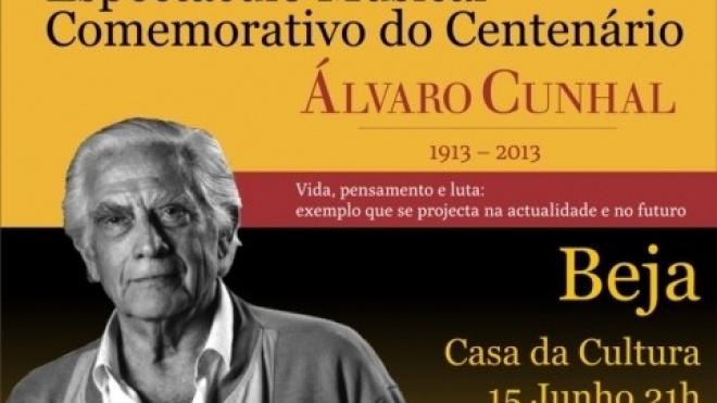 Espectáculo musical homenageia Álvaro Cunhal em Beja