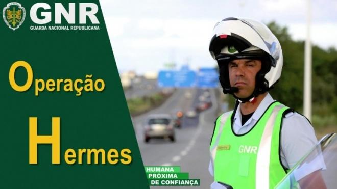 """GNR na estrada com 5ª fase da """"Operação Hermes"""""""