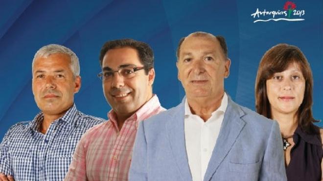 Candidatos da CDU ao concelho de Beja em Baleizão e nas Neves