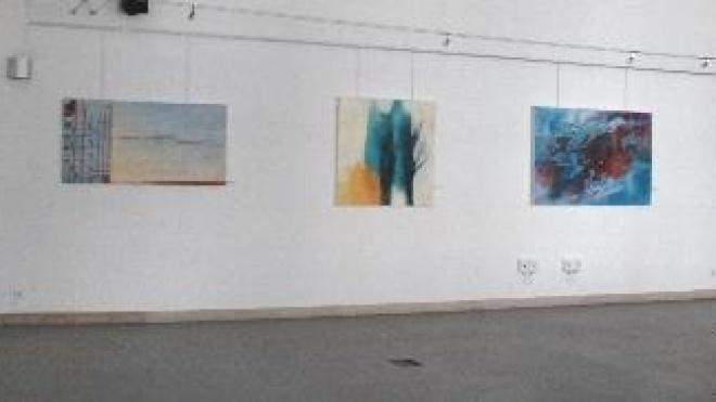 Exposição de pinturas em Aljustrel