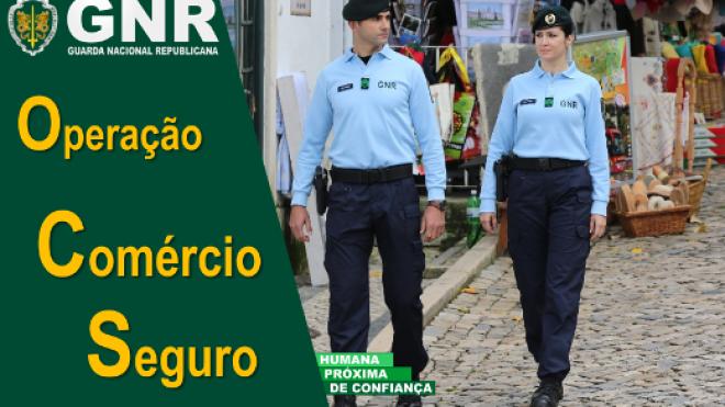 """GNR promove Operação """"Comércio Seguro"""""""