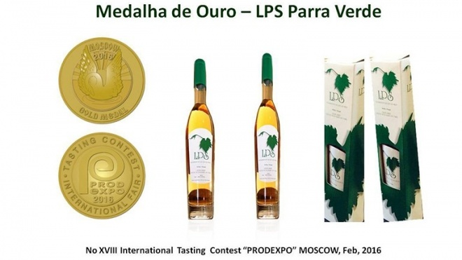 Medalha de Ouro - LPS Parra Verde