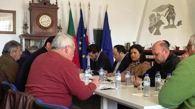 Deputados eleitos por Beja reuniram-se com Comissão de Acompanhamento das Obras do IP2
