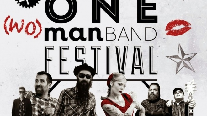 Pax Julia recebe One (Wo)man Band Festival
