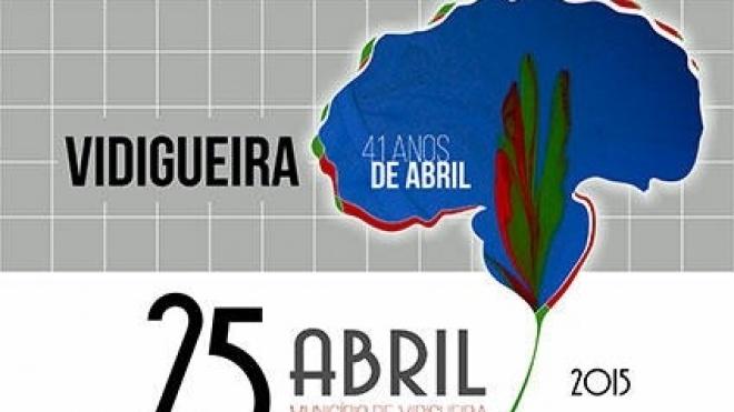 Vidigueira assinala 25 de Abril