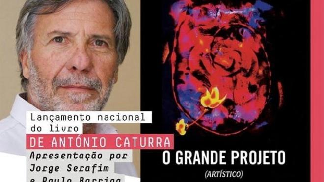 """António Caturra hoje nas """"Conversas com B de Beja"""""""