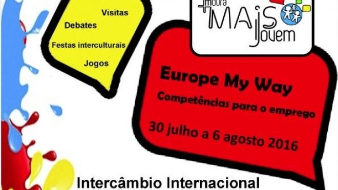 Jovens de Moura em intercâmbio internacional