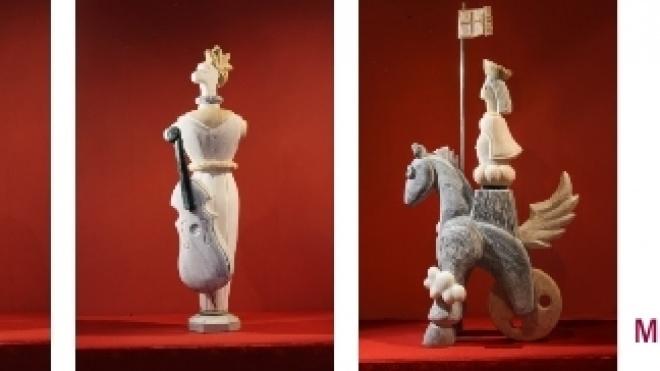 Exposição de escultura em Aljustrel