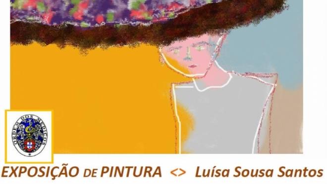 Exposição de pintura de Luísa Sousa Santos