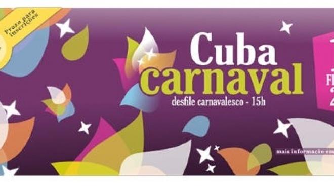 1200 foliões no desfile de Cuba