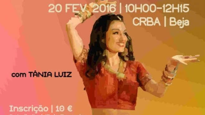 Workshop de bollywood no CRBA