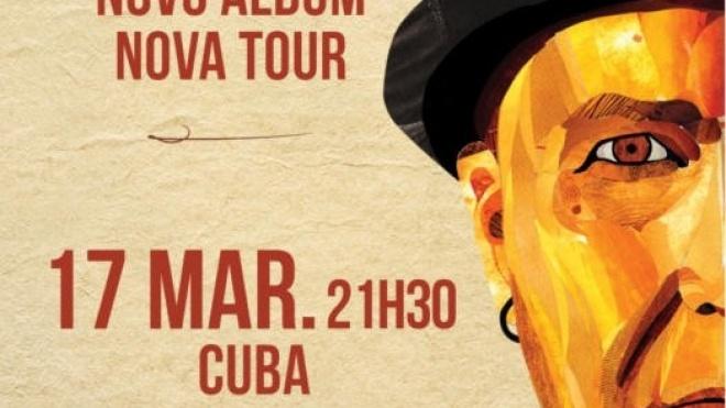 Luiz Caracol com espectáculo em Cuba