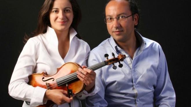 Violino e piano para ouvir no Pax Julia
