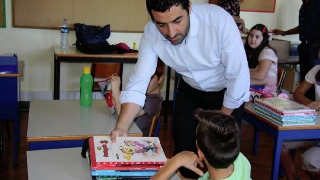 Tomé Pires acompanha hoje o arranque do novo ano escolar em Serpa