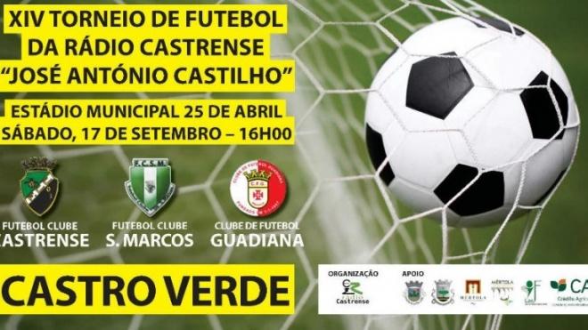 """""""Torneio José António Castilho"""" em Castro Verde"""