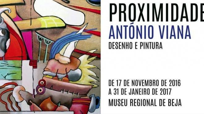 António Viana apresenta exposição em Beja
