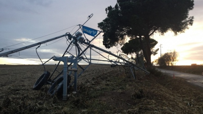 Governo apoia agricultores afetados pelos tornados
