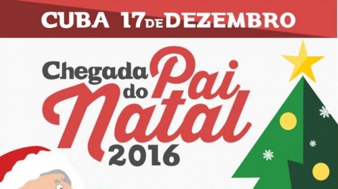 Cuba recebe hoje o Pai Natal