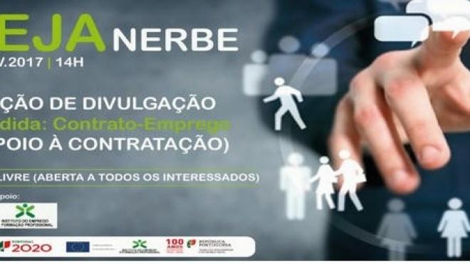 """""""Contrato-Emprego"""" apresentado em Beja"""