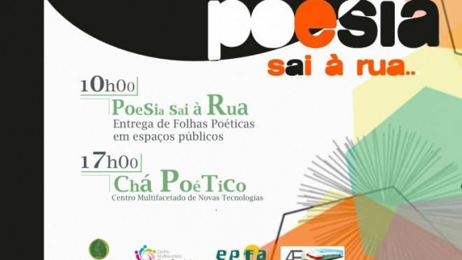"""""""Poesia sai à rua"""" em Vidigueira"""