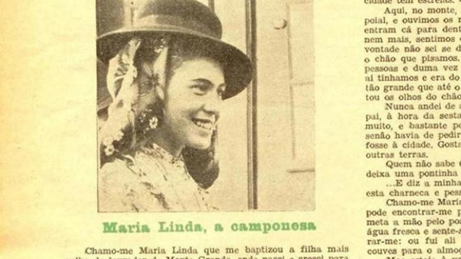 """""""Maria Linda: Uma mulher alentejana em meados do século XX"""""""