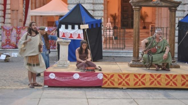 II Festival Beja Romana: fotogaleria da recriação de uma venda de escravas