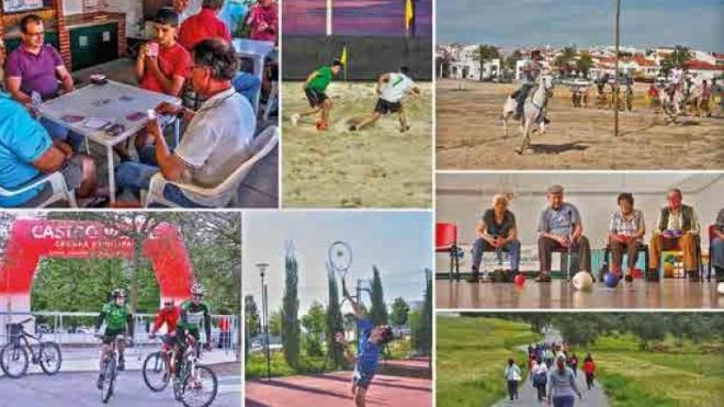 Castro Verde encerra com festa Jogos Concelhios 2015
