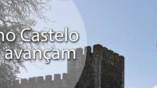 Obras no Castelo de Beja avançam