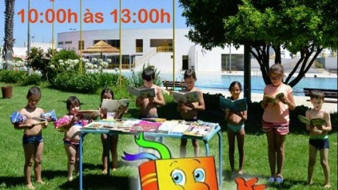 """Último dia da iniciativa """"A Biblioteca vai à Piscina"""""""
