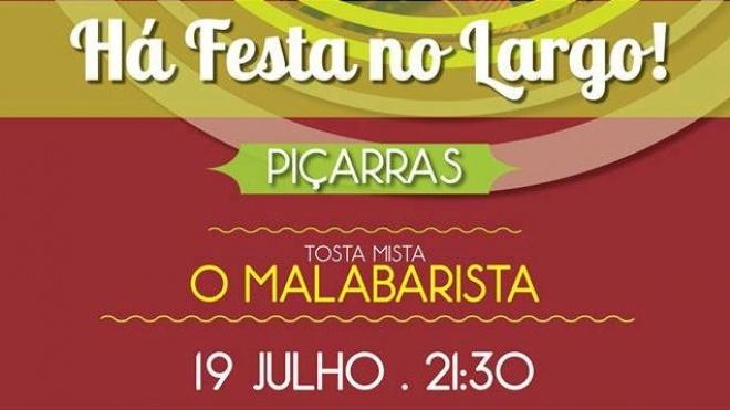 """Esta noite há """"Há Festa no Largo"""" de Piçarras"""