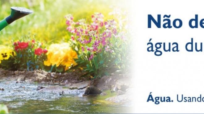 Campanha para racionalização da água