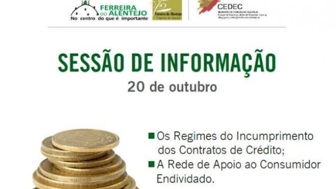 Sessão de informação sobre crédito e endividamento