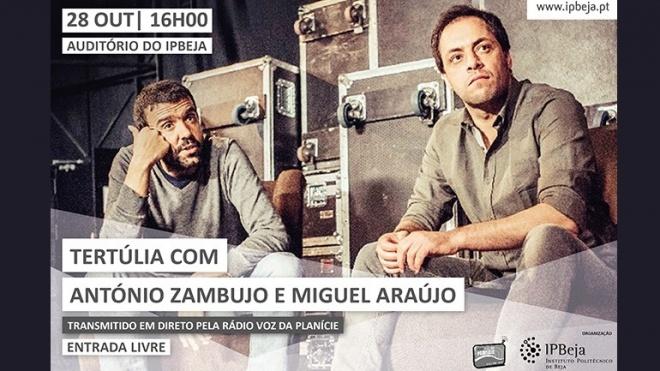 Três concertos e uma tertúlia com António Zambujo e Miguel Araújo