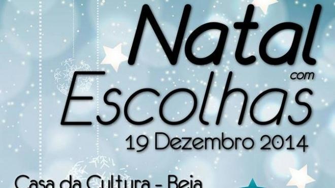 Natal com Escolhas e teatro em Beja