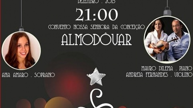 Almodôvar promove Concerto de Natal