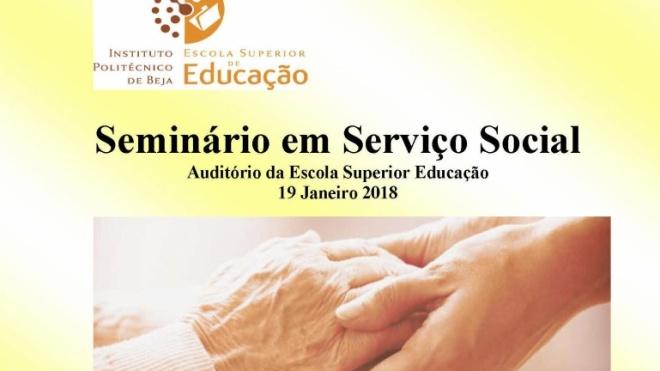 Seminário sobre Serviço Social no IPBeja