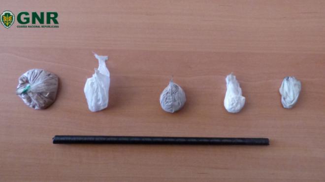 GNR de Beja deteve 1 indivíduo por tráfico de droga