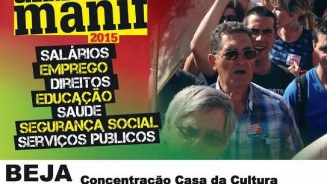 União de Sindicatos promove manifestação