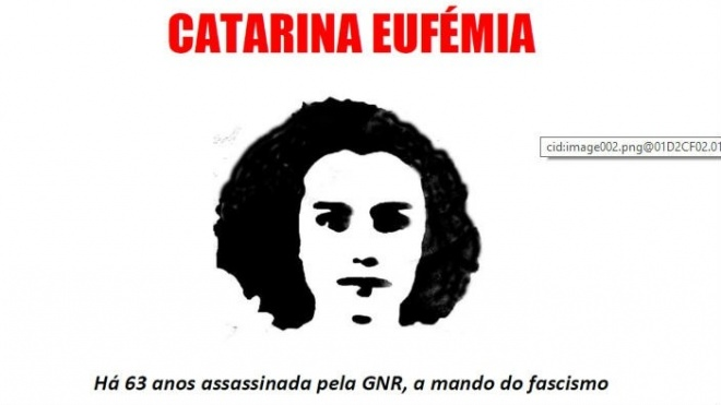 BE homenageia Catarina Eufémia