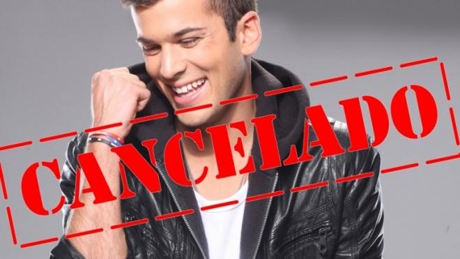 Concerto de David Carreira em Beja cancelado