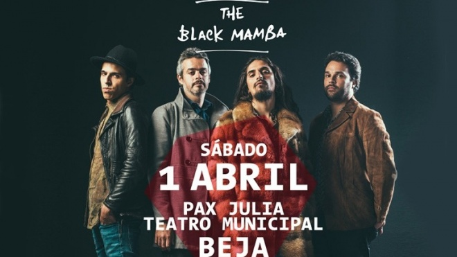 Os Black Mamba atuam em Beja neste sábado