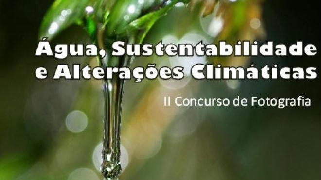 """""""Água, Sustentabilidade e Alterações Climáticas"""" é tema de concurso"""