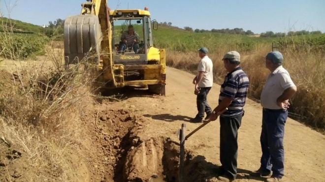 Vila de Frades recupera fontanário público da carreira de Serpa