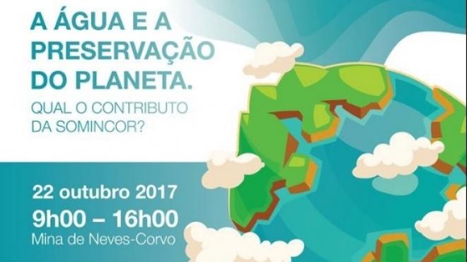 SOMINCOR promove ação sobre água e preservação do planeta