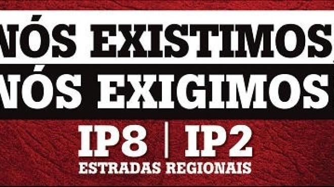 Dia de luta pelo IP8, IP2 e estradas regionais