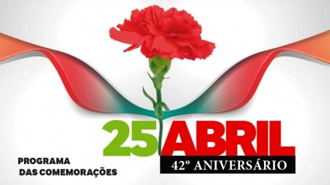 25 de Abril de 1974: Comemorações 42º aniversário