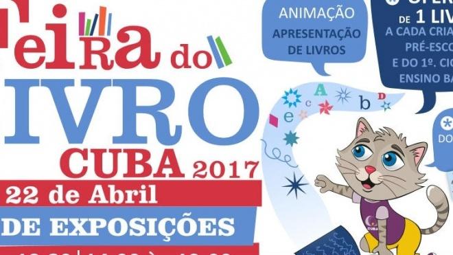 Feira do Livro em Cuba até sábado